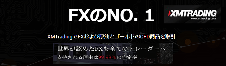 XMの公式サイト画面