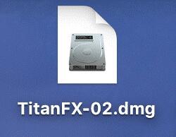 Titan FX(タイタン FX)の「TitanFX.dmg」